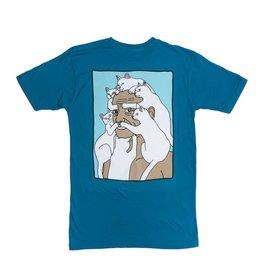 RIP N DIP RIP N DIP LORD NERM BEARD T-SHIRT SLATE BLUE
