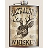 Trixie and Milo Jackalope Whiskey Flask, 8 oz