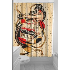 Sourpuss Hold Fast Shower Curtain