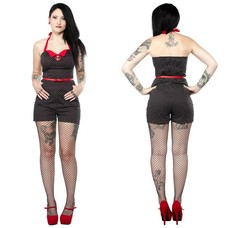 Sourpuss Rockabilly Gal Romper