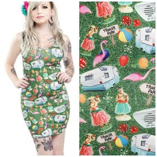 Sourpuss Trailer Park Tank Dress