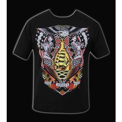 Black Market Art Safe Journey Mens Tee