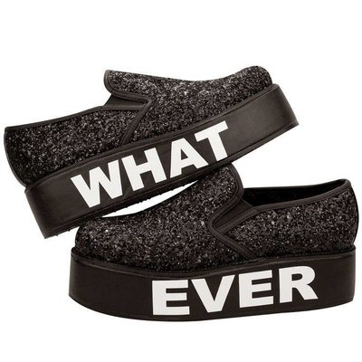 TUK WhatEver Slip-on Glitter Wrapped Creepers