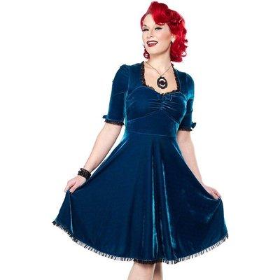 Sourpuss Velvet Vivienne Dress