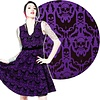 Sourpuss Spooky Damask Dress
