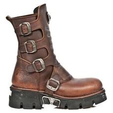 New Rock Shoes Reactor Alaska Men's Boots w/ Buckles (unlined)