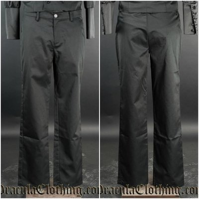 Dracula Clothing Dracula Pants - Black