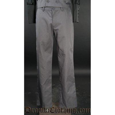 Dracula Clothing Dracula Pants - Grey