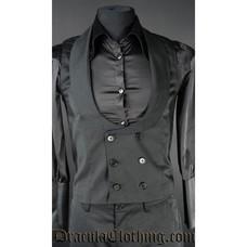 Dracula Clothing Dracula Waistcoat - Black