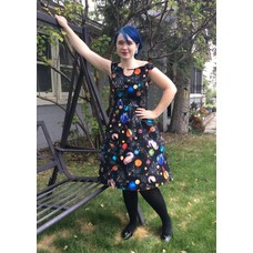 Retrolicious Planetary Alignment Dress