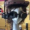 Goggles w/ LED 20x Loupe Time Piece & Antique Fiigree (255)