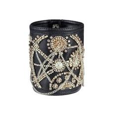 Vintage Goth Haldora Hand Crafted Bracelet