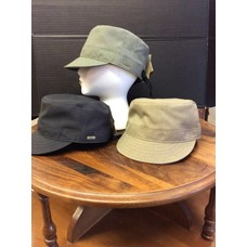 "DeLux Hats Paige Poly ""Military"" Cap, Adj."