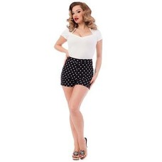 Steady Polka Dot Bombshell Shorts