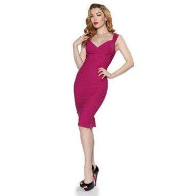 Steady Magenta Diva Dress