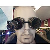 Brass Wash Goggles W/ 20x Loupe Pewter Watch Works