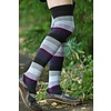 Sock Dreams Extraordinary Elemental Stripe Thigh Highs