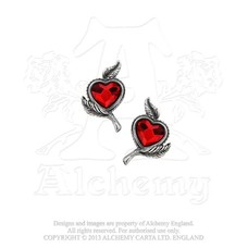 Alchemy England 1977 Love's Blossom Earrings
