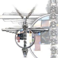 Alchemy England 1977 Mort Etoile Bijou Pendant Necklace