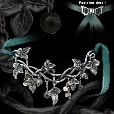 Alchemy England 1977 Poison Ivy Pendant Necklace