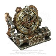 Alchemy England 1977 Time Chronambulator Desk Clock