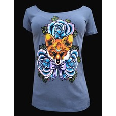 Black Market Art The Fox Women's Scoop Neck Tee