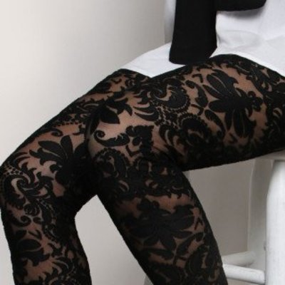 Folter Spellbound Sheer Patterned Leggings +