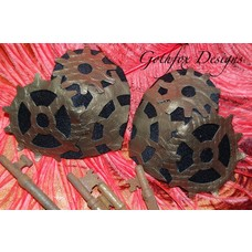 Gothfox Designs Couture Gear Love Pasties - S