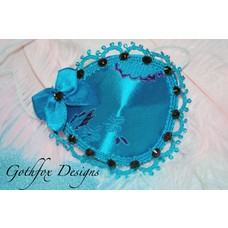 Gothfox Designs Deluxe Boy Blue Eye Patch