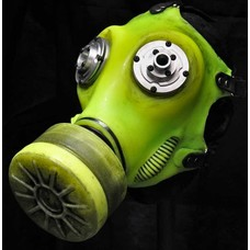 Apocalypse Hardware Glowing Gas Mask Fluorescent Green