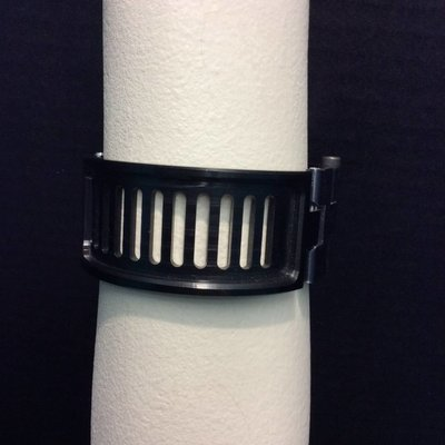 Apocalypse Hardware Machined Cuff w/ Wrapped Slots