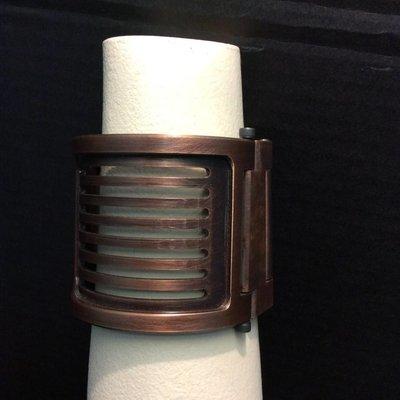 Apocalypse Hardware Tall Machined Cuff w/ Wrapped Slots