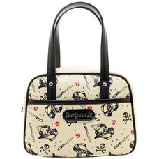 Sourpuss Surly Pirate Mini Bowler Purse