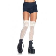 Leg Avenue Acrylic Pointelle OTK Scrunch Socks