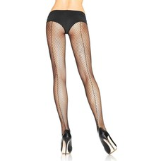 Leg Avenue Fishnet Pantyhose w/ Backseam