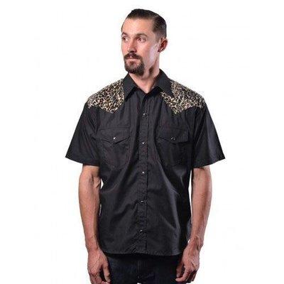 Steady Leopard Western Shirt