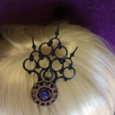 Machined Mermaid Hair Ornament