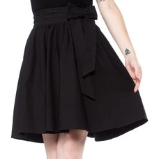 Sourpuss Black Magic Swing Skirt