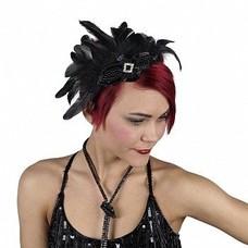 Feather Headband w/Schlappen
