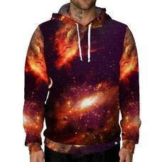INTO THE AM Warm Galaxy Unisex Hoodie