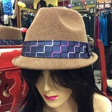 DeLux Hats Liverpool Brown Porkpie Hat