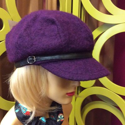 DeLux Hats Piper Wooly Cap