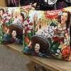 Pillow - Pin Up Mexican Girls 14""