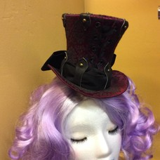 Shani Mini Top Hat (OOAK)