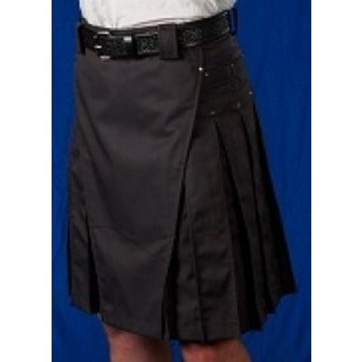 StumpTown Kilts Gray Kilt w/ Gun Metal