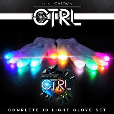 EmazingLights eLite Chroma CTRL Glove Set