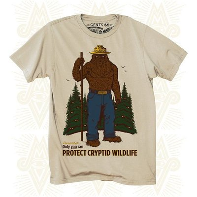 Maiden Voyage Clothing Co. Cryptid P.S.A. Gents Tee