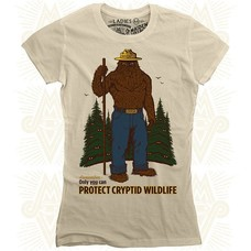 Maiden Voyage Clothing Co. Cryptid P.S.A. Ladies Tee