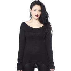 Sourpuss Black Mohair Sweater