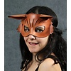 Tom Banwell Designs Foxy Leather Mask Light Brown